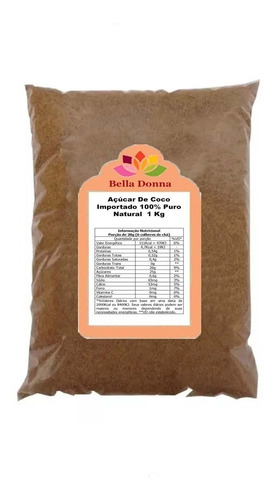 Imagem 1 de 2 de Açucar De Coco Premium 500 Grs Puro 100% Natural Importado