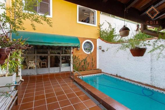 Casa Com 4 Dormitórios À Venda, 200 M² Por R$ 980.000 - Brooklin Paulista - São Paulo/sp - Ca2897