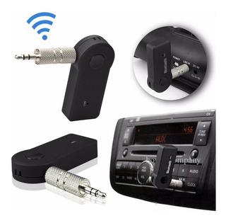 Receptor Bluetooth Usb P2 Saída Auxiliar Som De Carro