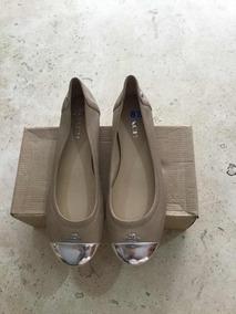 Zapato Flat Coach De Dama Original Y Nuevecitos Color Beige