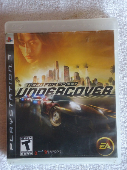 Need For Speed Undercover Ps3* * Frete Gratis Leia