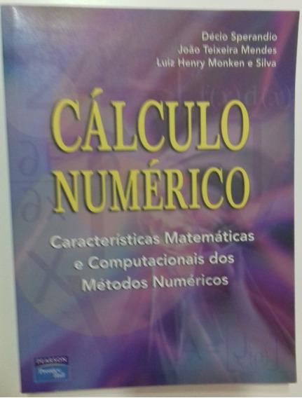 Livro Cálculo Numérico - Livro Físico