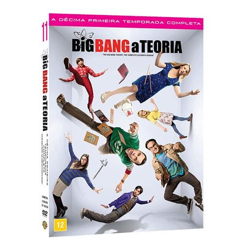 Dvd Box - The Big Bang Theory 11ª Temporada