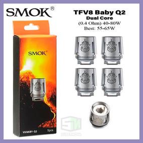 Resistência Coil Head Smok Tfv8 Baby-q2 5x Unidades Original