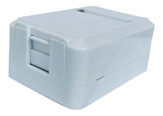 Caixa Superficie C/01 Saída P/rj45 ( Surface Box ) Kit C/20.