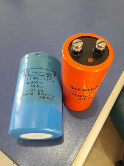 Capacitor Eletrolitico 10000 Uf X 70 Volts