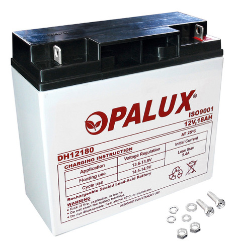 Imagen 1 de 1 de Batería Seca 12v 18ah Dh-1218 Opalux