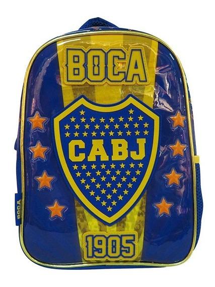 Boca Jr. Mochila Espalda 12p Bo062