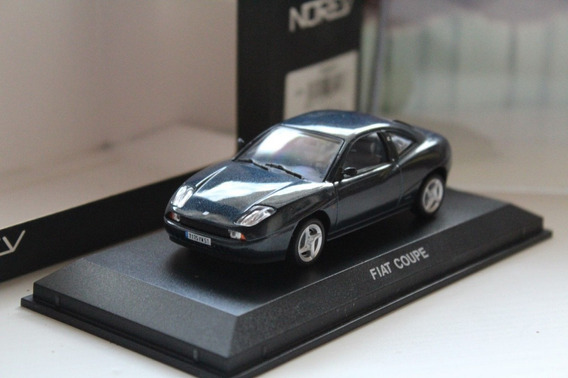 Fiat Coupe Azul Metálico 1:43 Norev