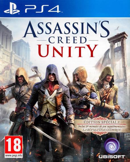 Assassins Creed Unity Ps4 Original**1