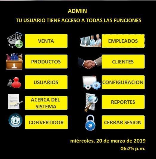 Sistema De Comercio Facturacion, Inventario, Reporte. Ticket