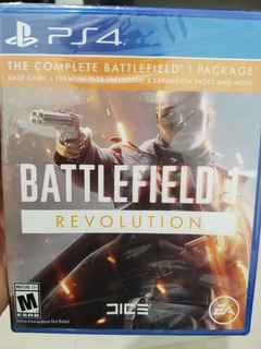 Battlefield 1 Revolution Con Todos Los Dlcs Ps4 Nuevo