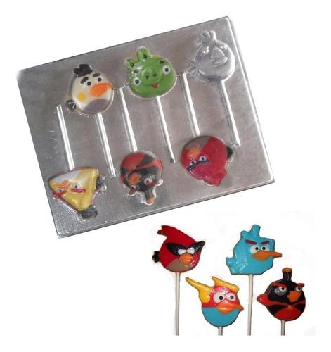 Molde Para Chocolate De Angry Birds