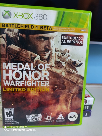 Jogo Medal Of Honor Warfighter Para Xbox360