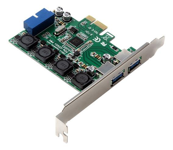 Placa De Expansão Pci Express Usb 3.0 Pci-e Para Conector I