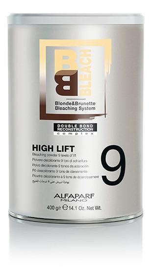 Polvo Decolorante Bb Bleach 9 Tonos High Lift Alfaparf 400gr