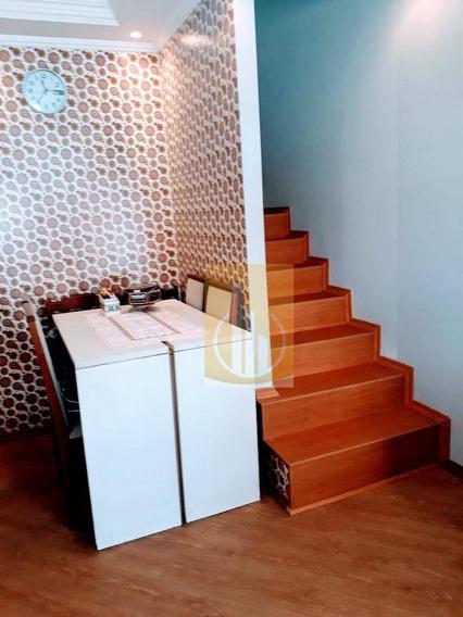 Sobrado Com 2 Dormitórios À Venda, 63 M² Por R$ 250.000,00 - Jardim São Miguel - Ferraz De Vasconcelos/sp - So0011