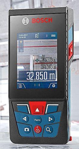 Medidor Láser Para Exteriores, Distanciómetro Bosch Glm 400c