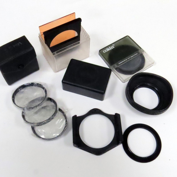 Lote Acessórios Filtro Polarizador Cokin + Macro, E Outros
