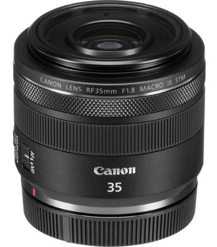 Imagem 1 de 10 de Lente Canon Rf 35mm F/1.8 Macro Is Stm Garantia Sem Juros