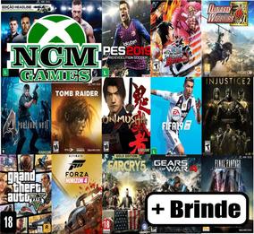 Promoção 3 Jogos Xbox One Offline + Brinde