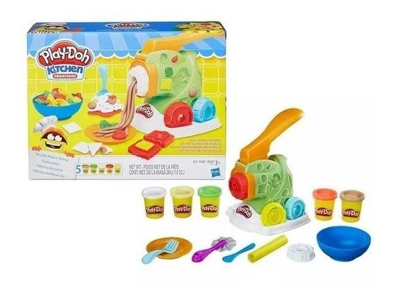 Masa Play Doh Juego Fabrica De Pastas Hasbro Plastilina Set