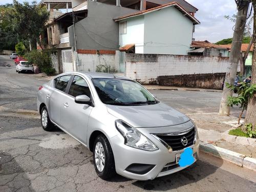 Imagem 1 de 10 de Vendo Nissan Versa 1.6 16v Sv Câmbio Cvt - Flex