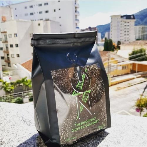 Café Emagrecedor E Pre Treino 250g Thermogenic Coffe Gourmet