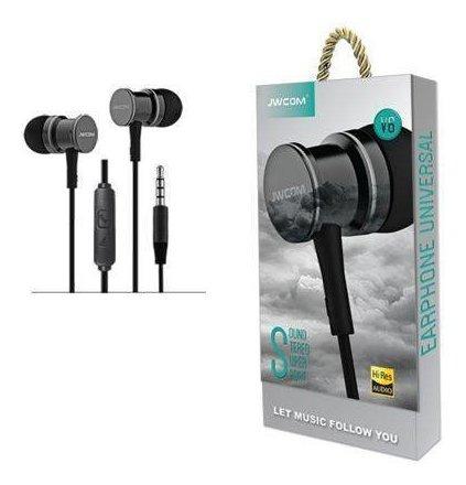Kit 2 Fone De Ouvido Com Microfone - Jwcom - V6