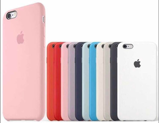 Protector Silicone Case Funda Apple 6-7-7plus-8-8plus-x