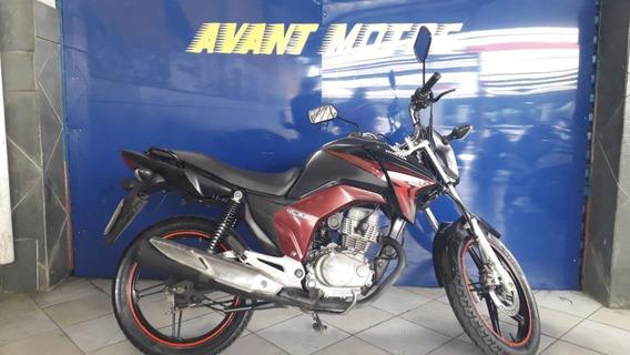 Honda Cg 150 Titan Ex Preta 2014