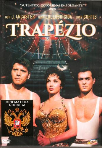 Dvd Trapézio, Com B Lancaster, T Curtis Gina Lollobrigida  +