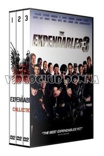 The Expendables Los Indestructibles Saga Dvd Latino Coleccio