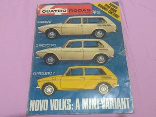 Revista Quatro Rodas - Nr. 140 - Março De 1972