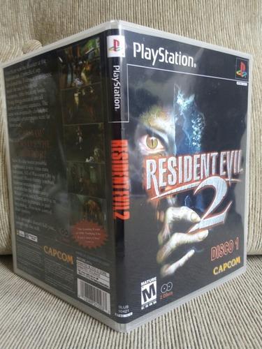 Resident Evil 2 Dublado Disco 1 Para Playstation 1-patch