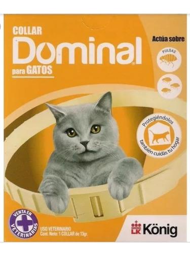 Collar Antipulgas Dominal Gato