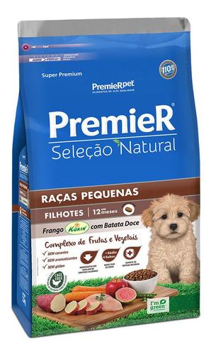 Ração Premier Seleção Natural Filhote Raças Pequenas 2,5kg