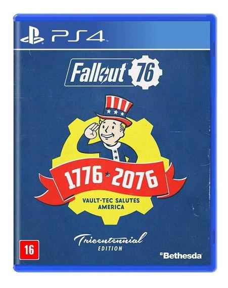 Fallout 76 Edição Tricentenária Ps4 Mídia Física Lacrado