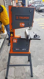 Sierra De Cinta 10 1/3hp 110v/220v Truper Modelo Sci-10
