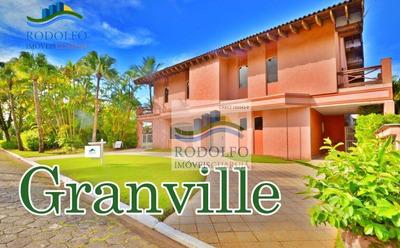 Condomino Granville Guarujá Sobrado Alto Padrão Piscina, 6 Suítes, 2 Terrenos, Lazer Total No Condomínio - So0007