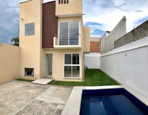 Se Vende Casa Sola En Jiutepec, Morelos