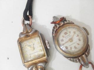 Dos Relojes De Pulsera Colección Origen Suiza De Dama Fr17