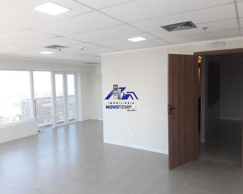 Sala Comercial Em Alphaville Com 200m² E 4 Vagas - Alameda Madeira - Sa00113 - 68858834