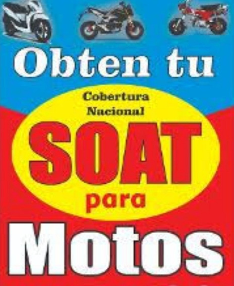 Soat La Positiva (digital) Para Moto Linial