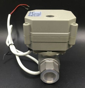 Válvula 1/2 Pol Esfera Elétrica Proporcional 4-20ma Inox
