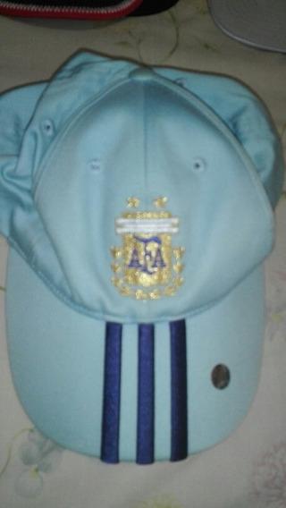 Gorra Con Visera adidas Afa Argentina Celeste