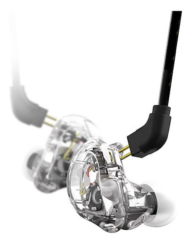 Imagen 1 de 11 de Auriculares In Ears Transparentes Alta Resolucion Stagg