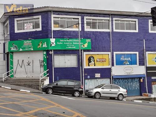 Imagem 1 de 8 de Salão Comercial Em Jaguaribe  -  Osasco - 27593