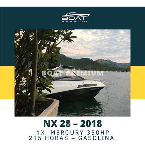Imagem 1 de 9 de Nx 28, 2018, 1x  Mercury 350hp - Ventura - Focker