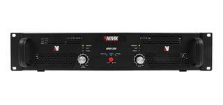 Potencia Novik Novo500 Stereo 1000w Pico 500w Rms